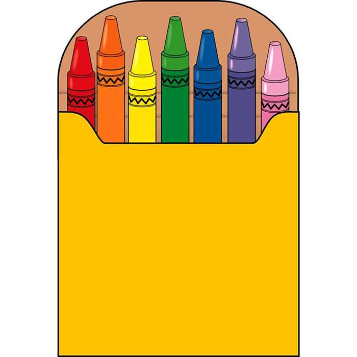 Notepad Large Crayon Box By Shapes Etc