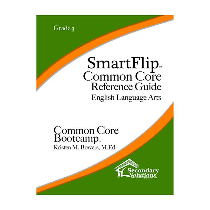 Smartflip Gr 3 Common Core Ref Guide For Ela Commo, SECCCSF3