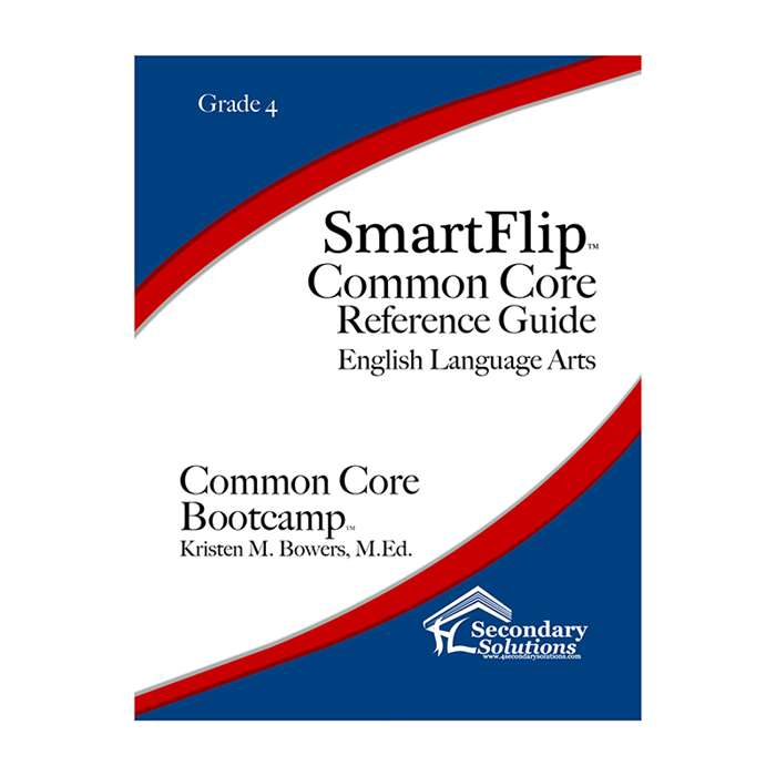 Smartflip Gr 4 Common Core Ref Guide For Ela Commo, SECCCSF4