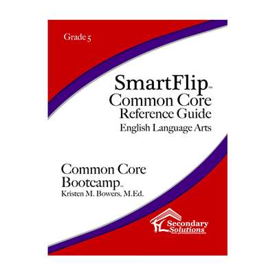 Smartflip Gr 5 Common Core Ref Guide For Ela Commo, SECCCSF5
