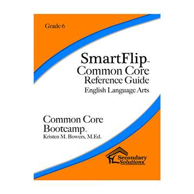 Smartflip Gr 6 Common Core Ref Guide For Ela Commo, SECCCSF6