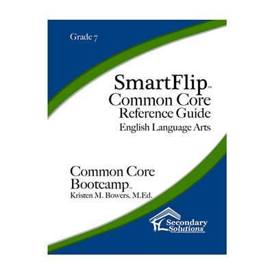 Smartflip Gr 7 Common Core Ref Guide For Ela Commo, SECCCSF7