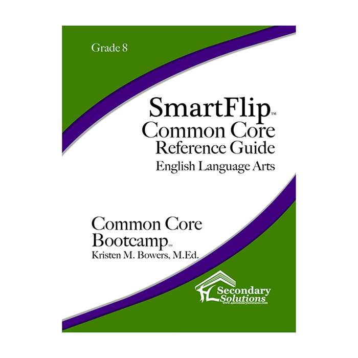 Smartflip Gr 8 Common Core Ref Guide For Ela Commo, SECCCSF8