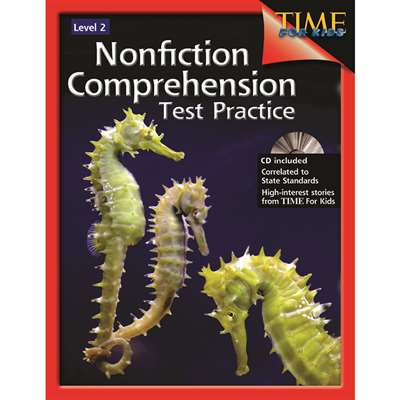 Nonfiction Comprehension Test Practice Gr 2 By Shell Education