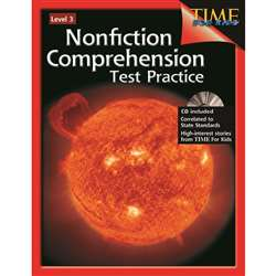 Nonfiction Comprehension Test Practice Gr 3 By Shell Education