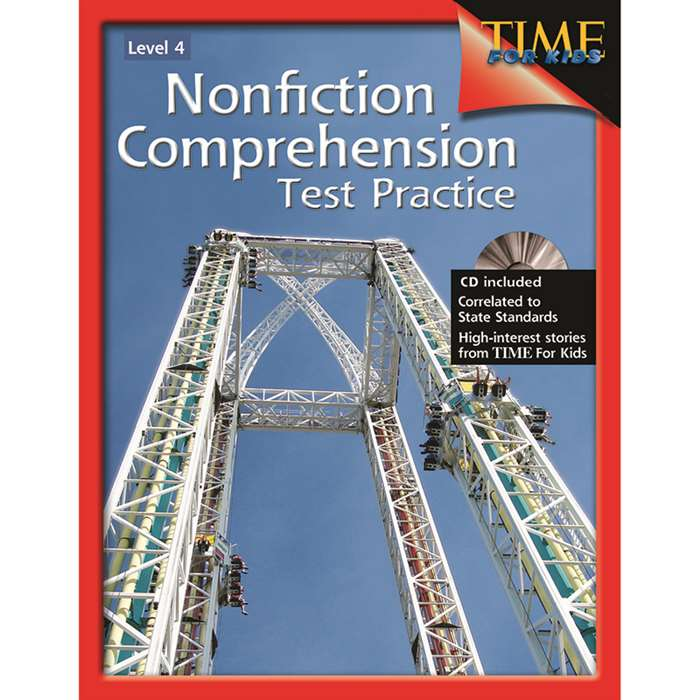 Nonfiction Comprehension Test Practice Gr 4 By Shell Education