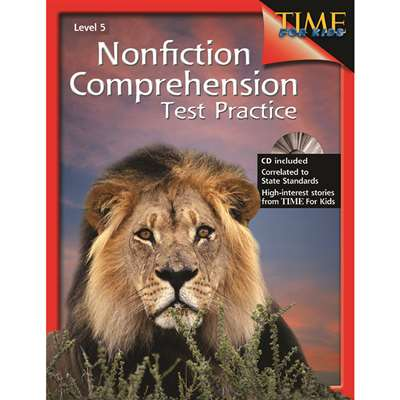 Nonfiction Comprehension Test Practice Gr 5 By Shell Education