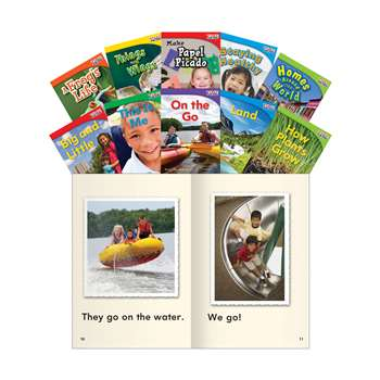 Time For Kids Gr 1 Set 1 10 Book Set English, SEP16095
