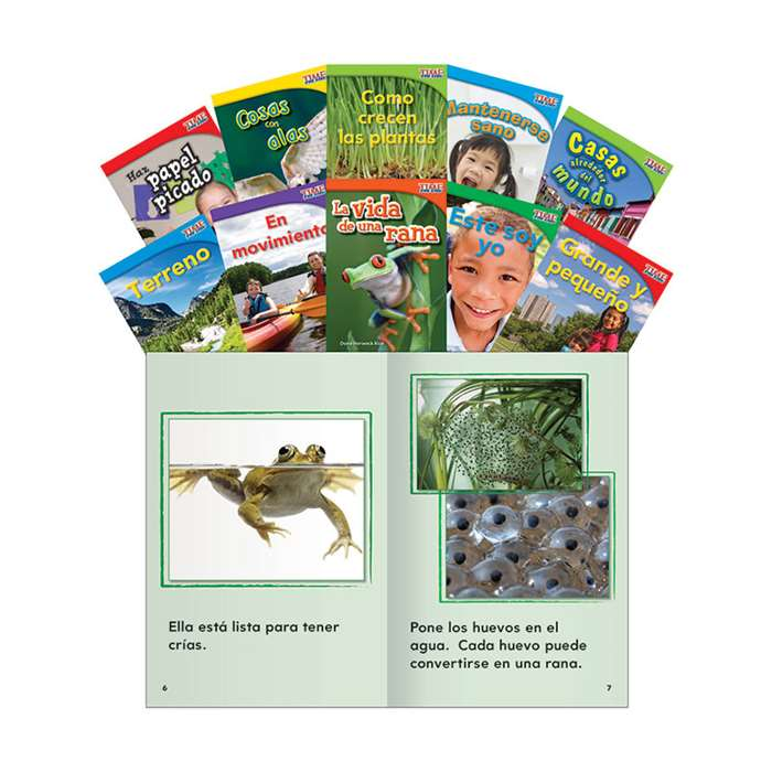 Time For Kids Gr 1 Set 1 10 Book Set Spanish, SEP16096