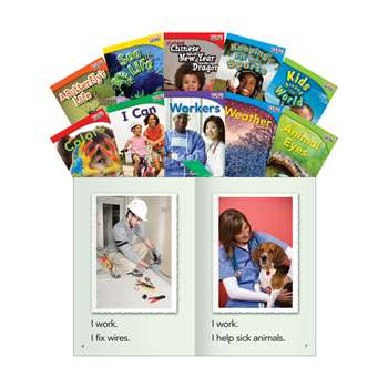 Time For Kids Gr 1 Set 2 10 Book Set English, SEP16097