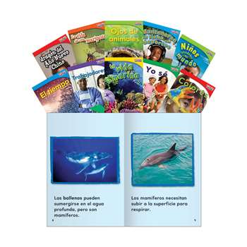 Time For Kids Gr 1 Set 2 10 Book Set Spanish, SEP16098