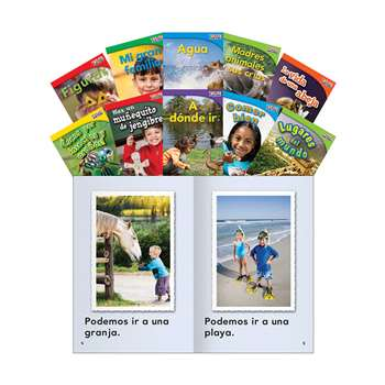 Time For Kids Gr 1 Set 3 10 Book Set Spanish, SEP16100