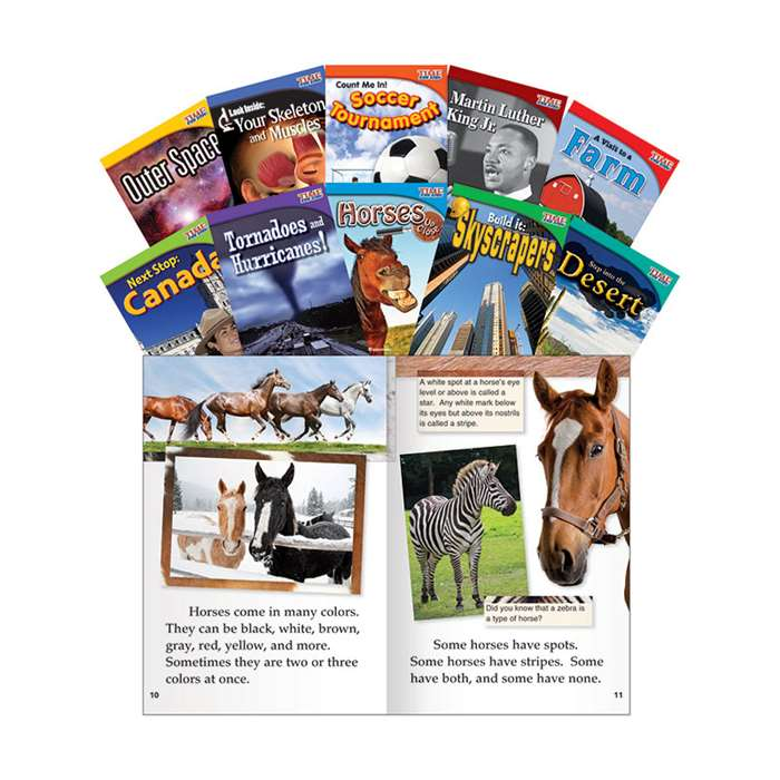Time For Kids Gr 2 Set 2 10 Book Set English, SEP16103