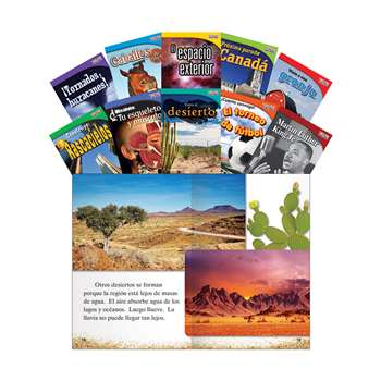 Time For Kids Gr 2 Set 2 10 Book Set Spanish, SEP16104