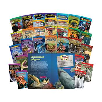 Time For Kids Gr 5 30 Book Set Spanish, SEP20222