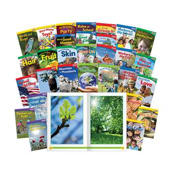 Time For Kids Gr K 30 Book Set English, SEP24703
