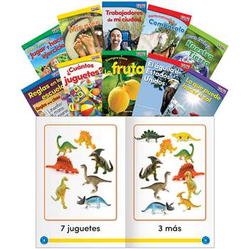 Time For Kids Set 2 Spanish Gr K, SEP25855