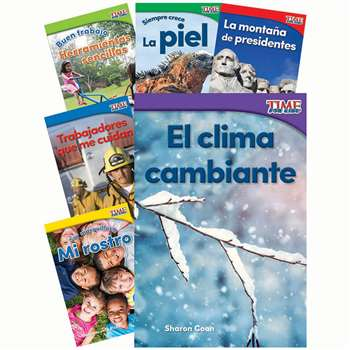 Time For Kids Gr K Spanish Set 3, SEP25856