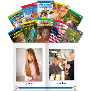 Time For Kids Gr K Set 1 Spanish, SEP25871