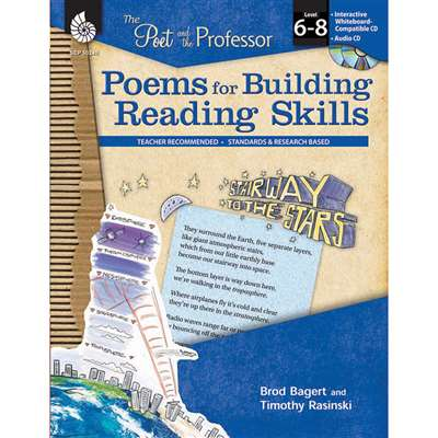 Poems For Building Reading Skills Gr 6-8 By Shell Education