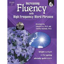 Increasing Fluency W High Frequency Word Phrases Gr 3 By Shell Education