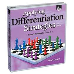 Applying Differentiation Strategies Gr K-2 Teachers Handbook By Shell Education