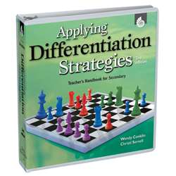 Applying Differentiation Strategies Gr 6-8 Teachers Handbook By Shell Education