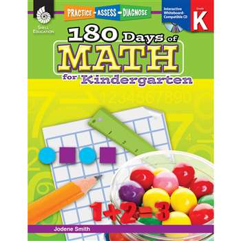 180 Days Of Math Gr K By Shell Education