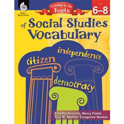 Social Studies Vocabulary Gr 6-8 Getting To The Ro, SEP50868