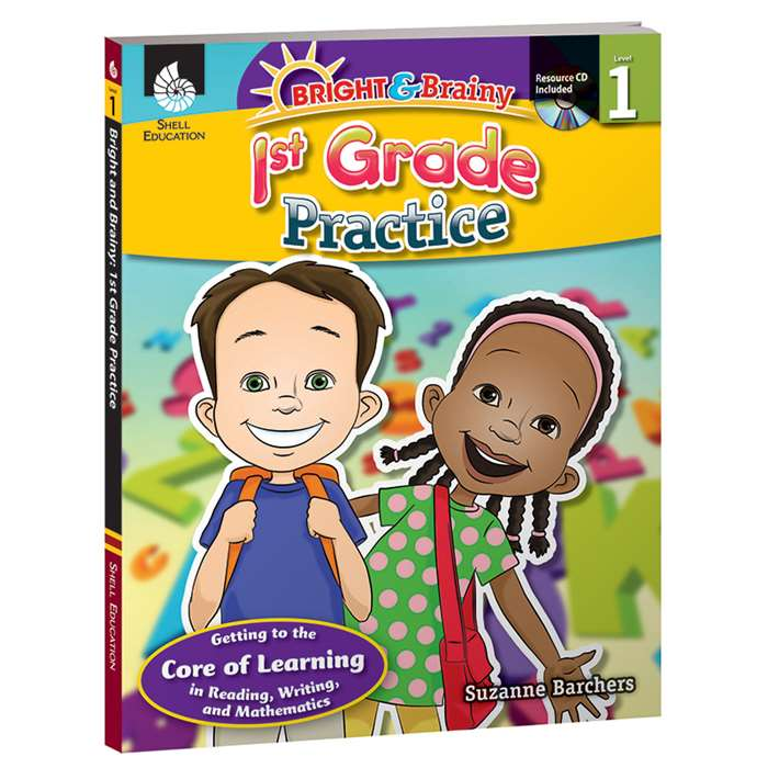Grade Level Practice Book & Cd Gr 1 By Shell Education