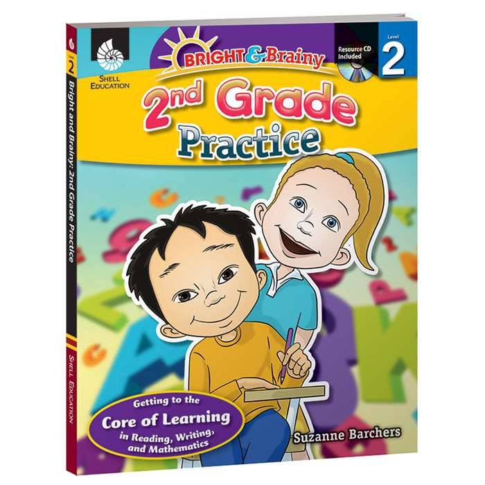 Grade Level Practice Book & Cd Gr 2 By Shell Education