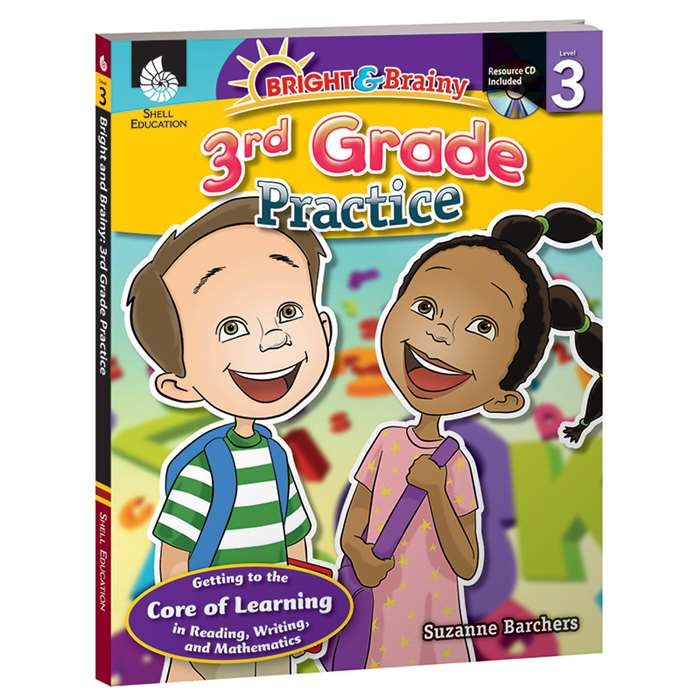 Grade Level Practice Book & Cd Gr 3 By Shell Education