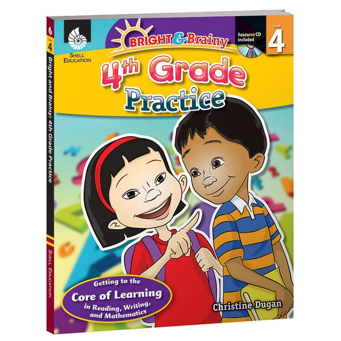 Grade Level Practice Book & Cd Gr 4 By Shell Education