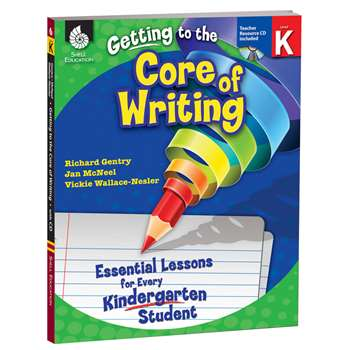 Level K Getting To The Core Of Writing Book & Cd By Shell Education
