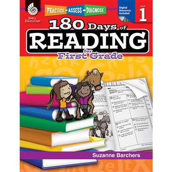 180 Days Of Reading Book For First Grade By Shell Education