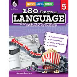 180 Days Of Language Gr 5, SEP51170
