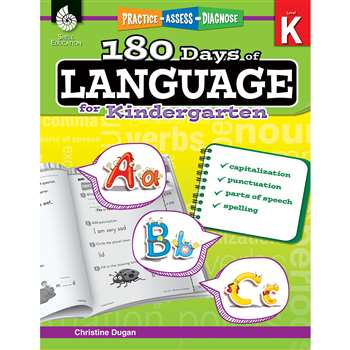 180 Days Of Language Gr K, SEP51172