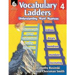 Vocabulary Ladders Gr 4, SEP51303