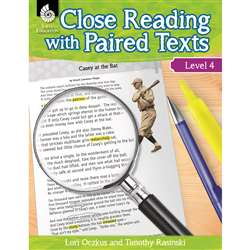 Level 4 Close Reading With Paired Texts, SEP51360
