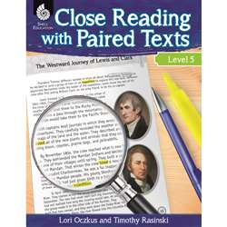 Level 5 Close Reading With Paired Texts, SEP51361