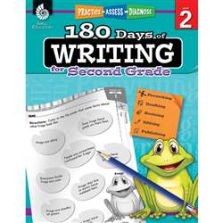 180 Days Of Writing Gr 2, SEP51525
