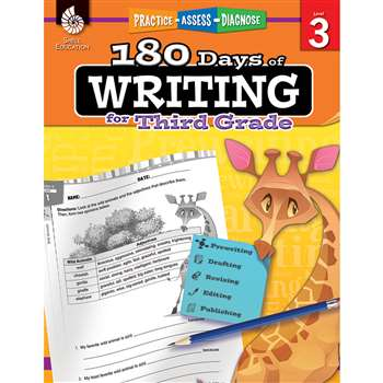 180 Days Of Writing Gr 3, SEP51526
