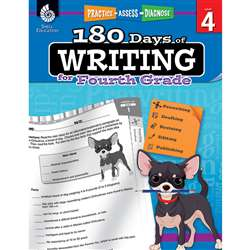 180 Days Of Writing Gr 4, SEP51527