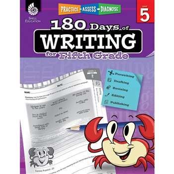 180 Days Of Writing Gr 5, SEP51528