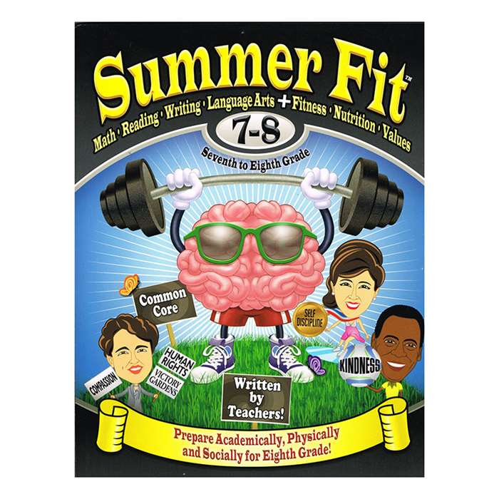 Summer Fit Gr 7-8 By Summer Fit Learning