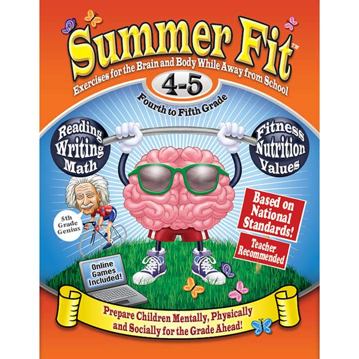 Summer Fit Gr 4-5 Exercises For The Brain And Body By Summer Fit Learning