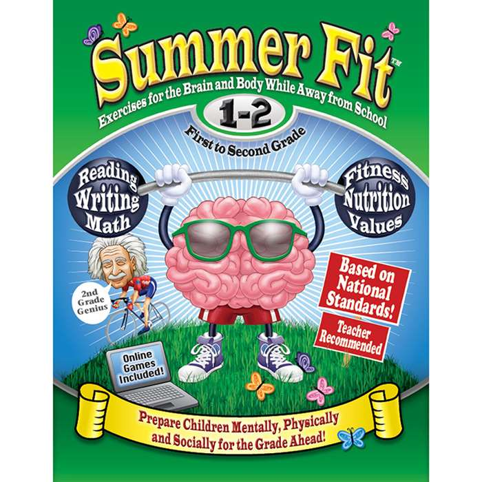 Summer Fit Gr 1-2 Exercises For The Brain And Body By Summer Fit Learning