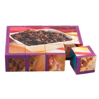 Snacks Cube Puzzle By Stages Learning Materials