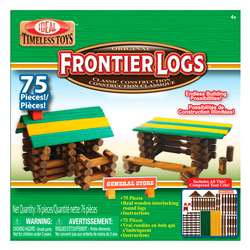 Frontier Logs 75 Pieces By Poof Products Slinky