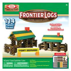 Frontier Logs 114 Pieces By Poof Products Slinky